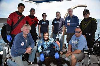 ODA Dive & Boat Crew on the <em>Clearwater</em>