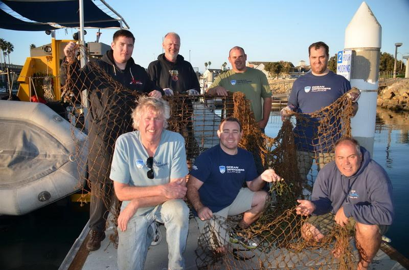Crew with day's catch