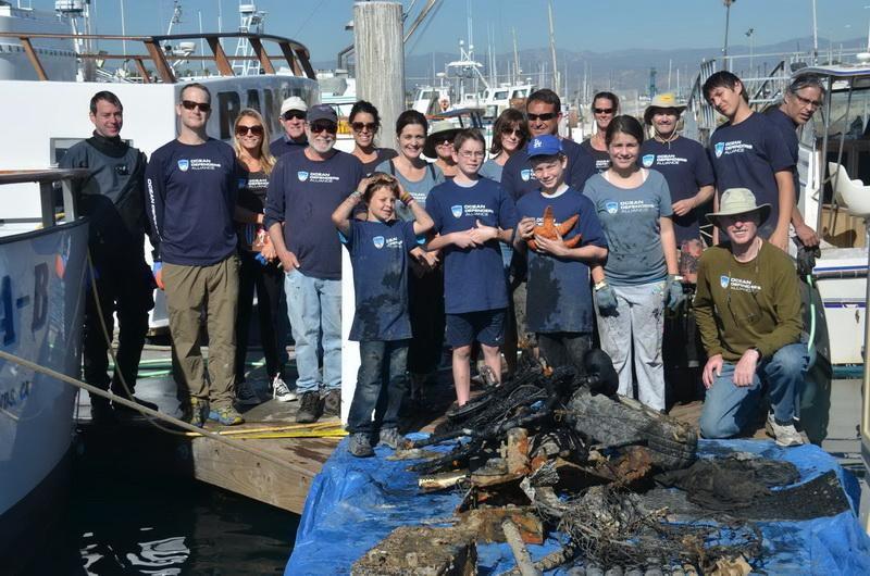 Volunteer Crew at days end