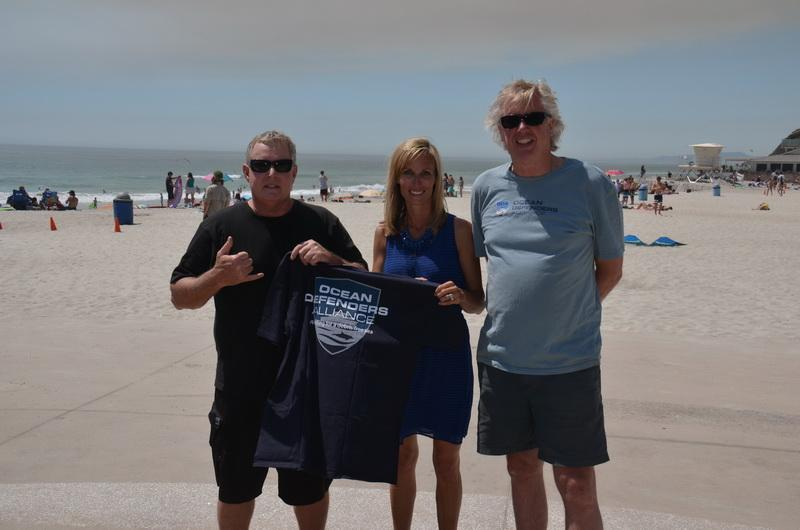 Ray Hollowell, Encinitas City Council Member Kristin Gaspar, and Kurt Lieber