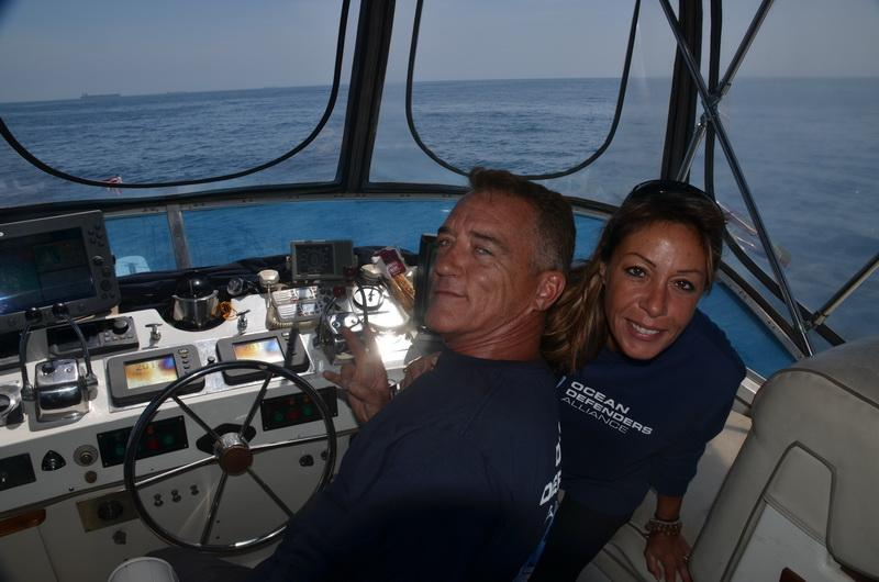 Ocean Defender volunteers Phillip and Laurie Meilbach