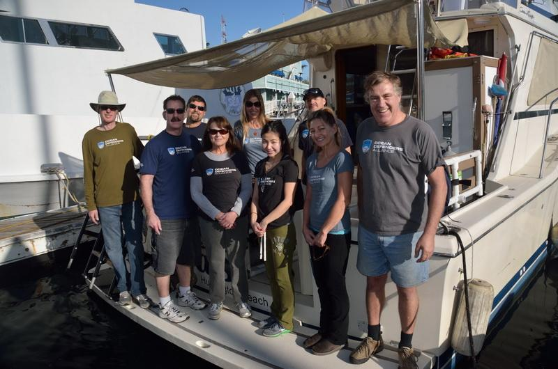 Ocean Defenders Alliance Dive & Boat Crew before departing on debris removal expedition.