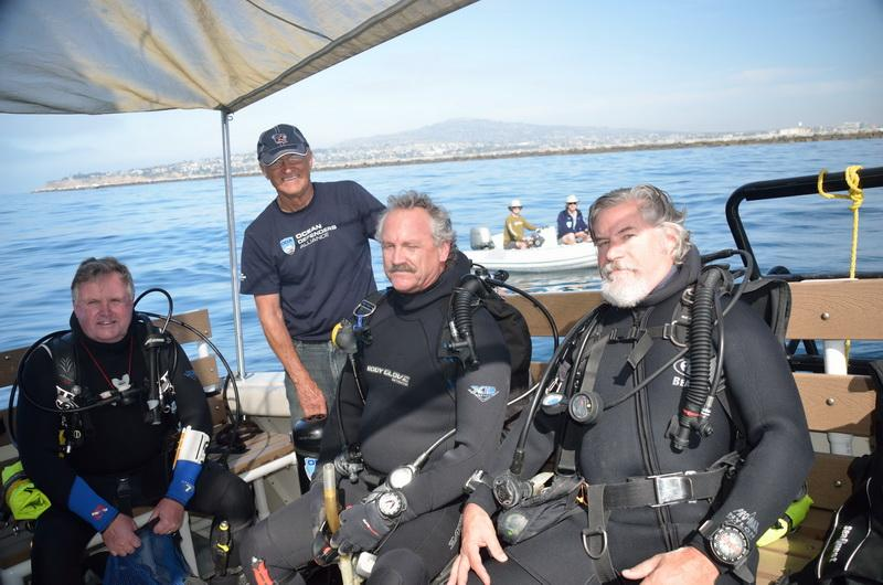 Ocean Defenders Alliance Dive Crew ready to dive on debris!