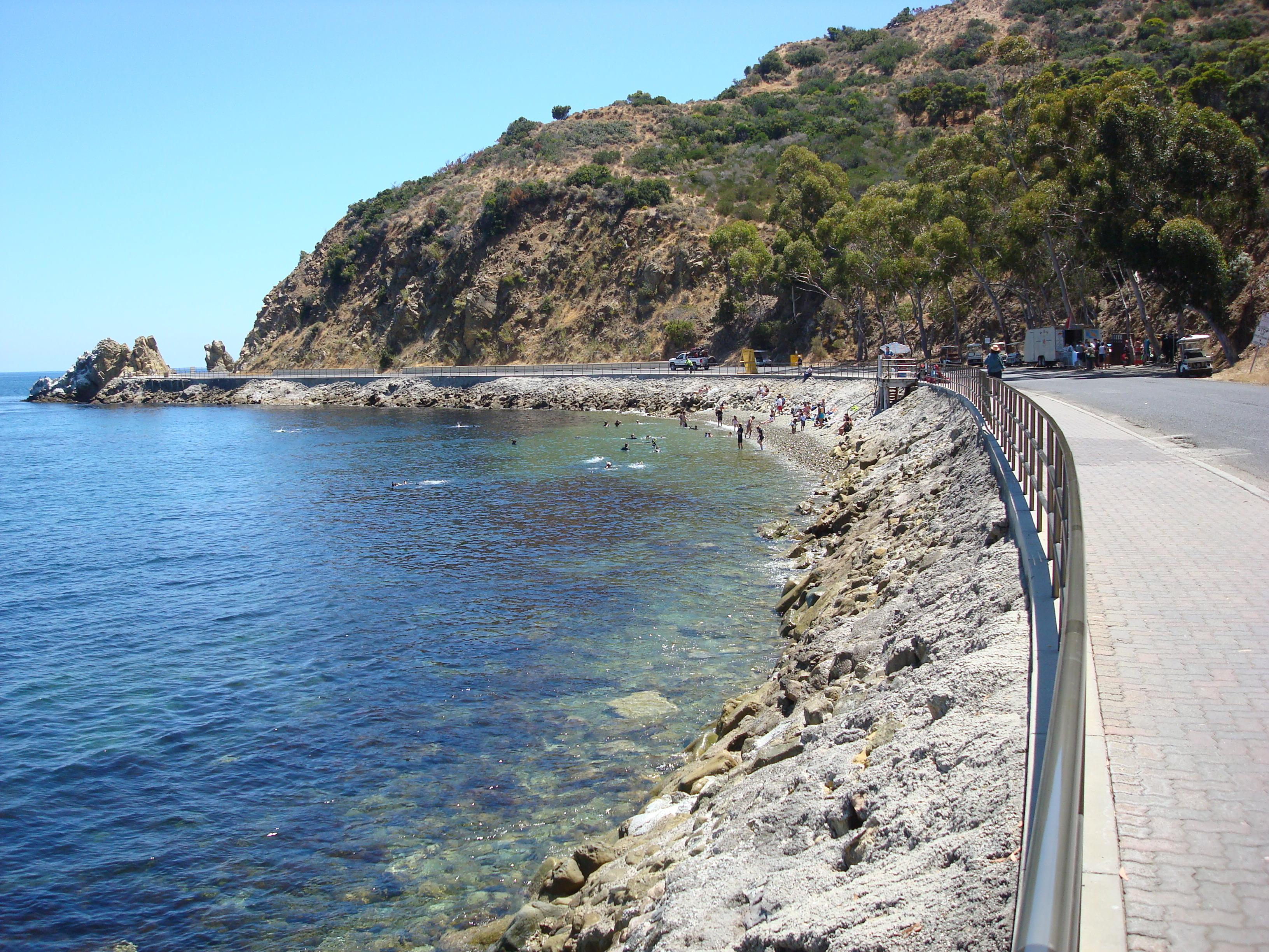 Lover's Cove, Catalina Island
