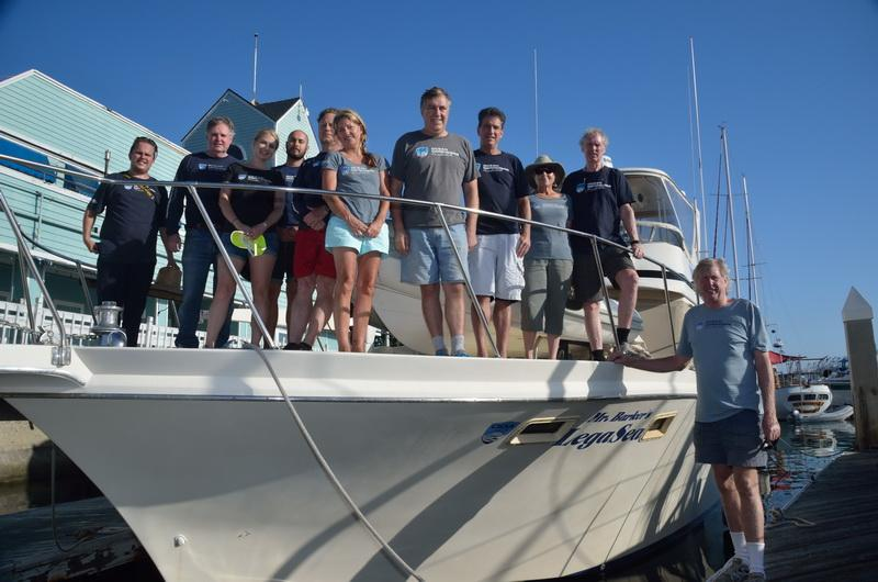 Ocean Defenders Alliance Dive & Boat Crew extracts marine debris