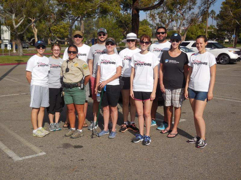 ODA's Cheryl McCarthy with the Disney Volunteers