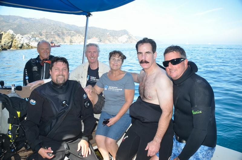 ODA Dive Crew ready to go