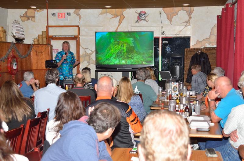 Kurt Lieber is the Founder and President of ODA gives talk to Channel Island Divers