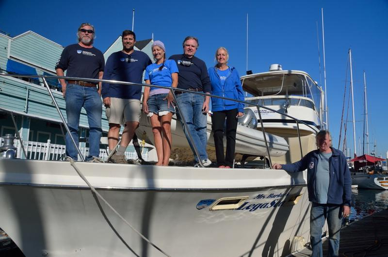 ODA Volunteer Crew before departure on our debris removal expedition.