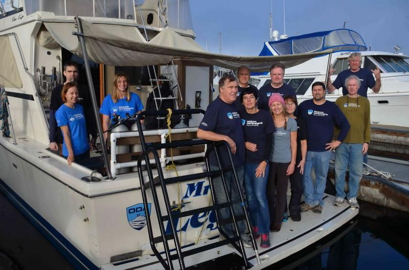 Ocean Defender Dive & Boat Crew before departure