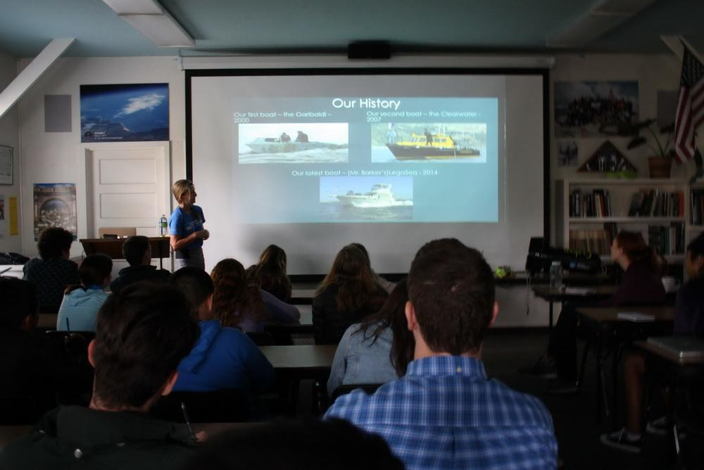 Ocean Defender Diver and Educator Kim Cardenas