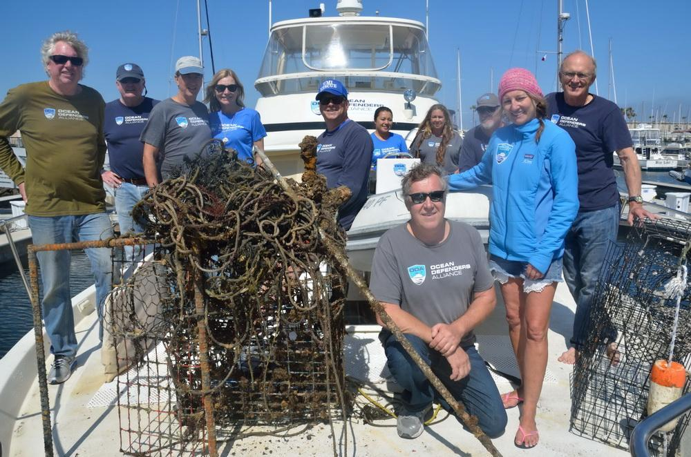 ODA Volunteer Crew with the days catch