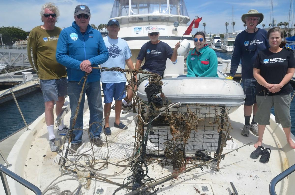 ODA Crew with catch of the day