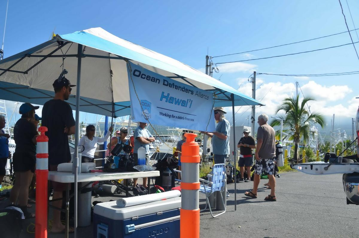 Ocean Defenders on the Big Island