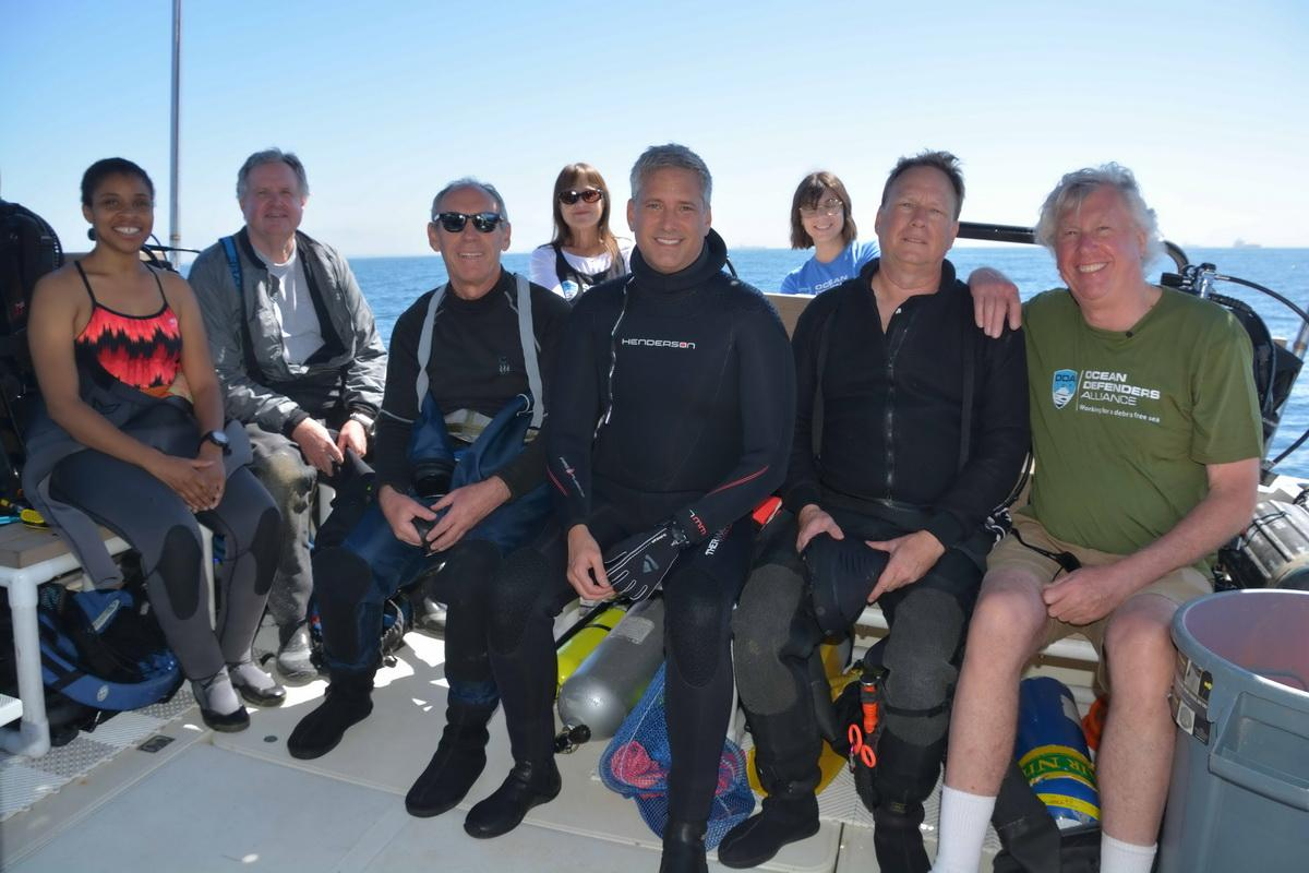 Crew before dive