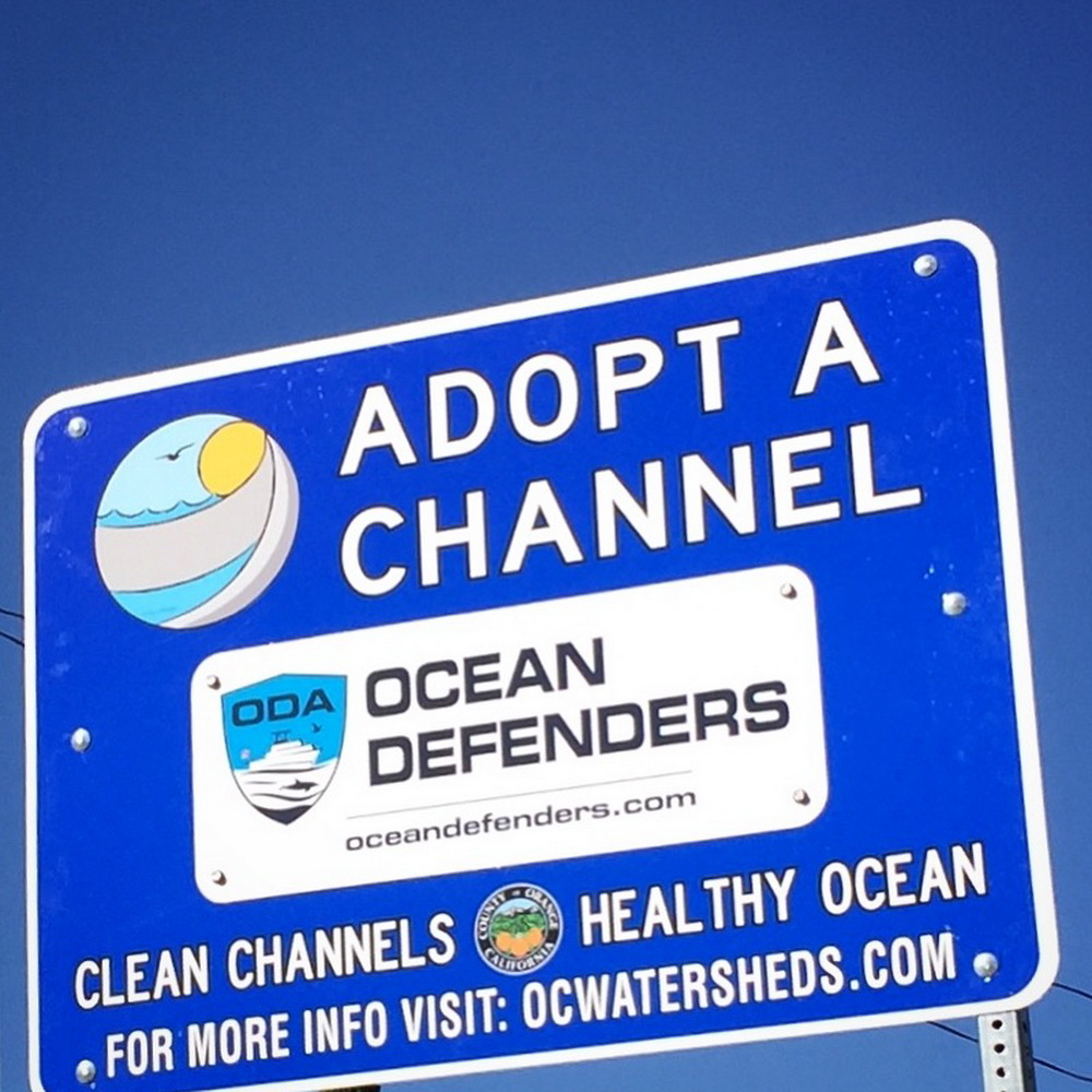 Adopt a channel sign