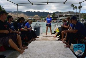 Hawaii-boats-Oahu-Sea-Fox-Mary-giving-briefing-1-LR